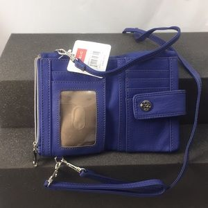 Cobalt blue crossbody bag from RELIC New with tag